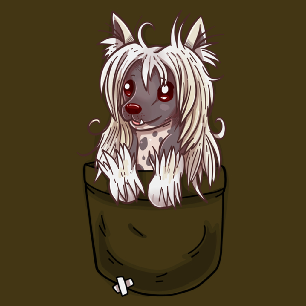 NeatoShop: Pocket Chinese Crested Puppy