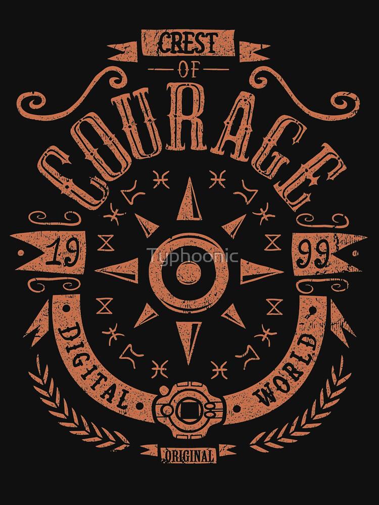 RedBubble: Crest of Courage - Greymon - Taichi