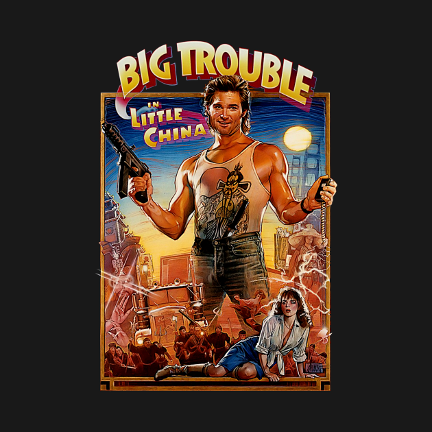 TeePublic: Truck Driver Gets Dragged Chinatown Action 80s Movie Fan Gifts