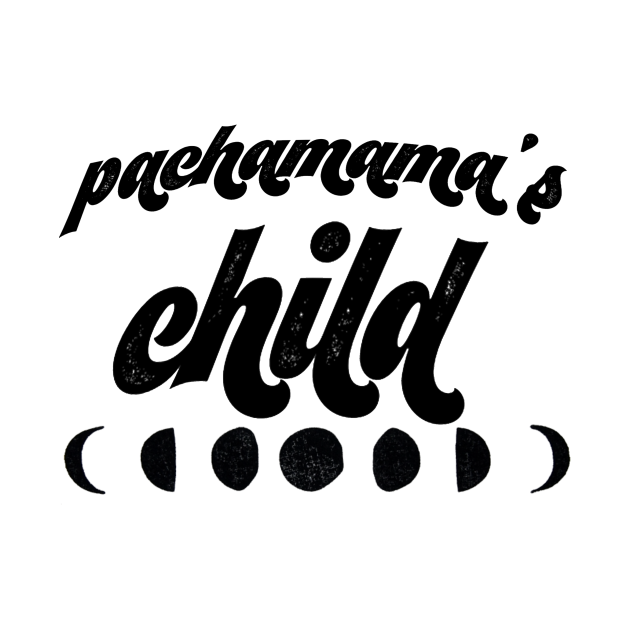 TeePublic: Respect me!! I'm Pachamama's child