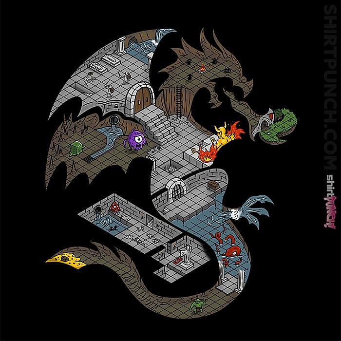 ShirtPunch: Dungeons In Dragons