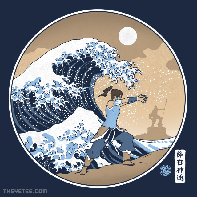 The Yetee: The Great Wave of Republic City