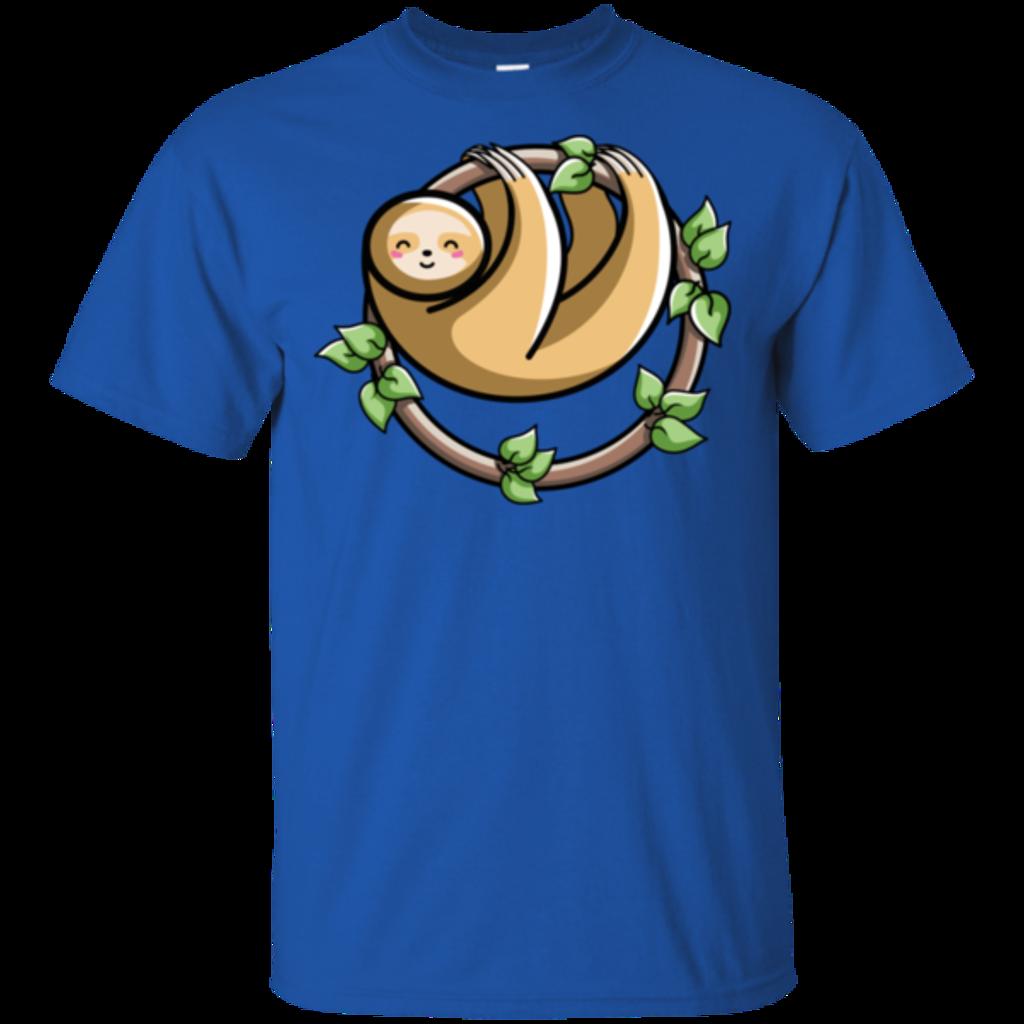 Pop-Up Tee: Kawaii Cute Sloth