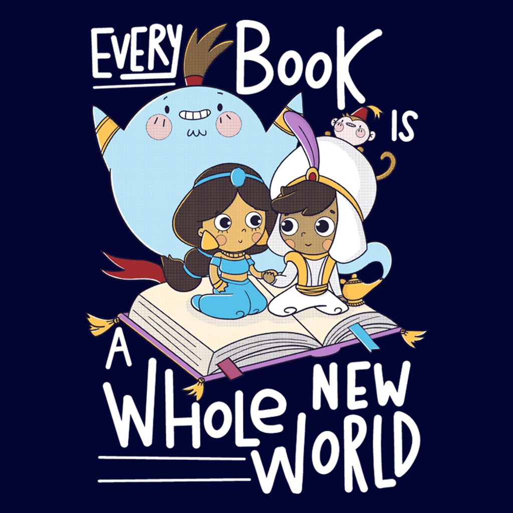 Pampling: Every Book Is A Whole New World