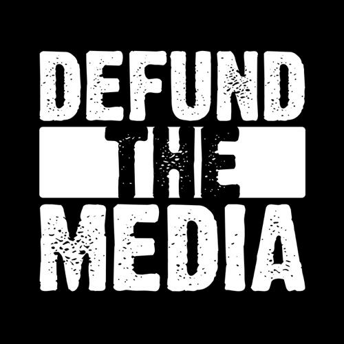 Five Finger Tees: Defund The Media T-Shirt
