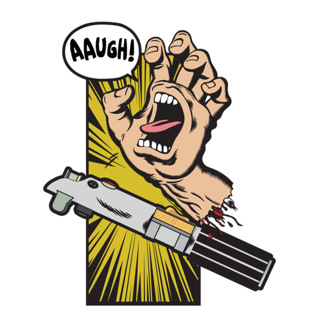 NeatoShop: AAUGH! MY HAND