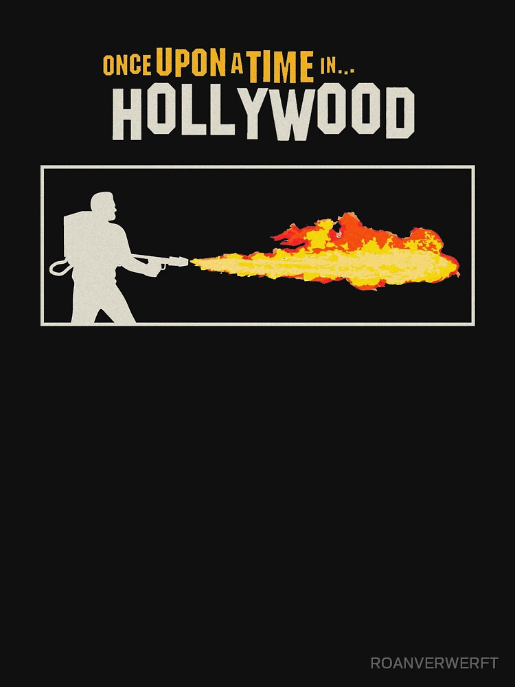 RedBubble: Once Upon a Time in Hollywood