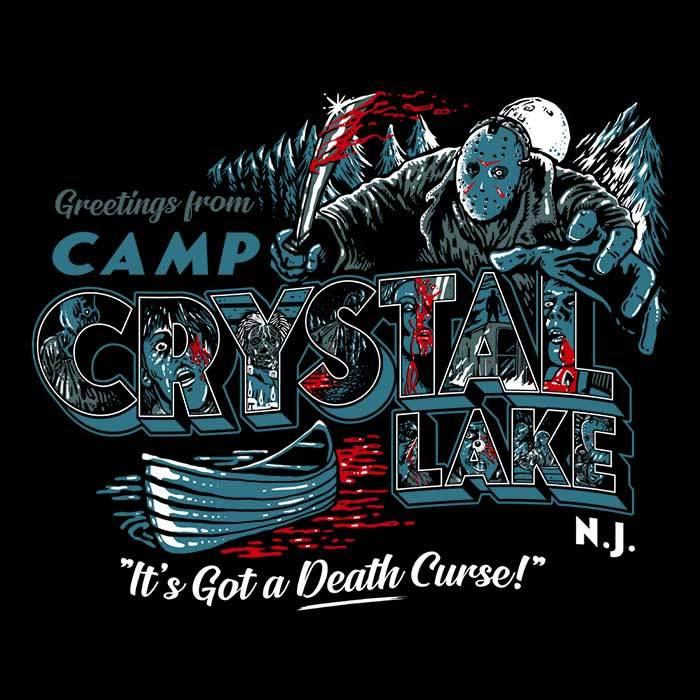 Once Upon a Tee: Visit Crystal Lake