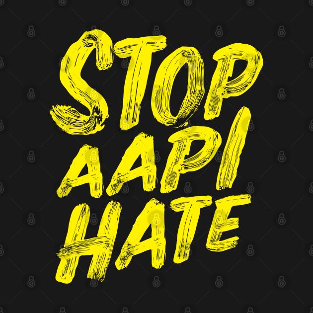 TeePublic: Stop AAPI Hate Official Logo