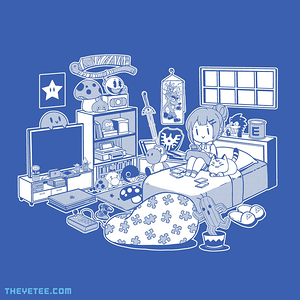 The Yetee: Gamer gal by Coinbox Tees