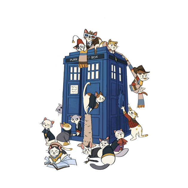 TeePublic: Doctor Cat