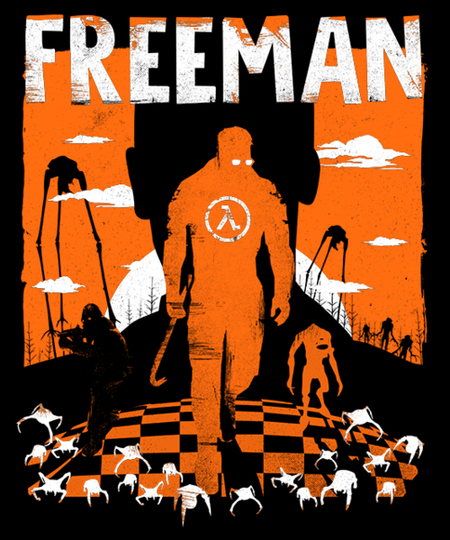 Qwertee: The Freeman