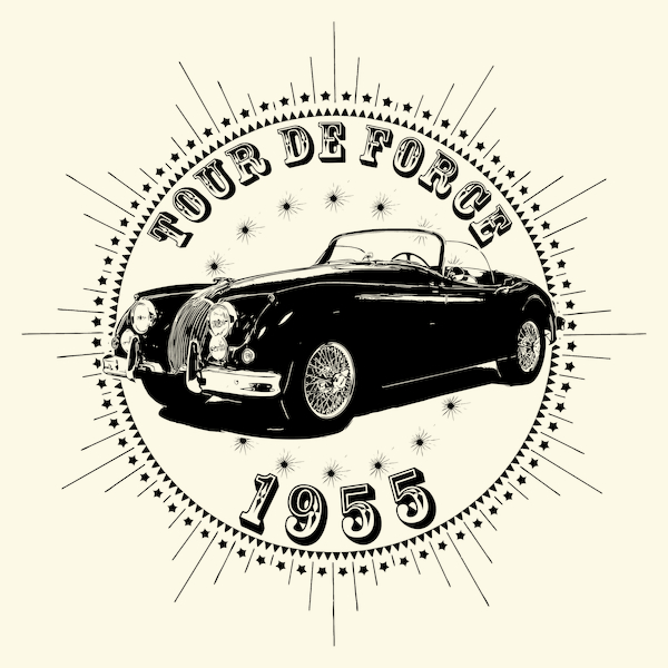 NeatoShop: Vintage Classic Car 1955 Tour De Force Jag