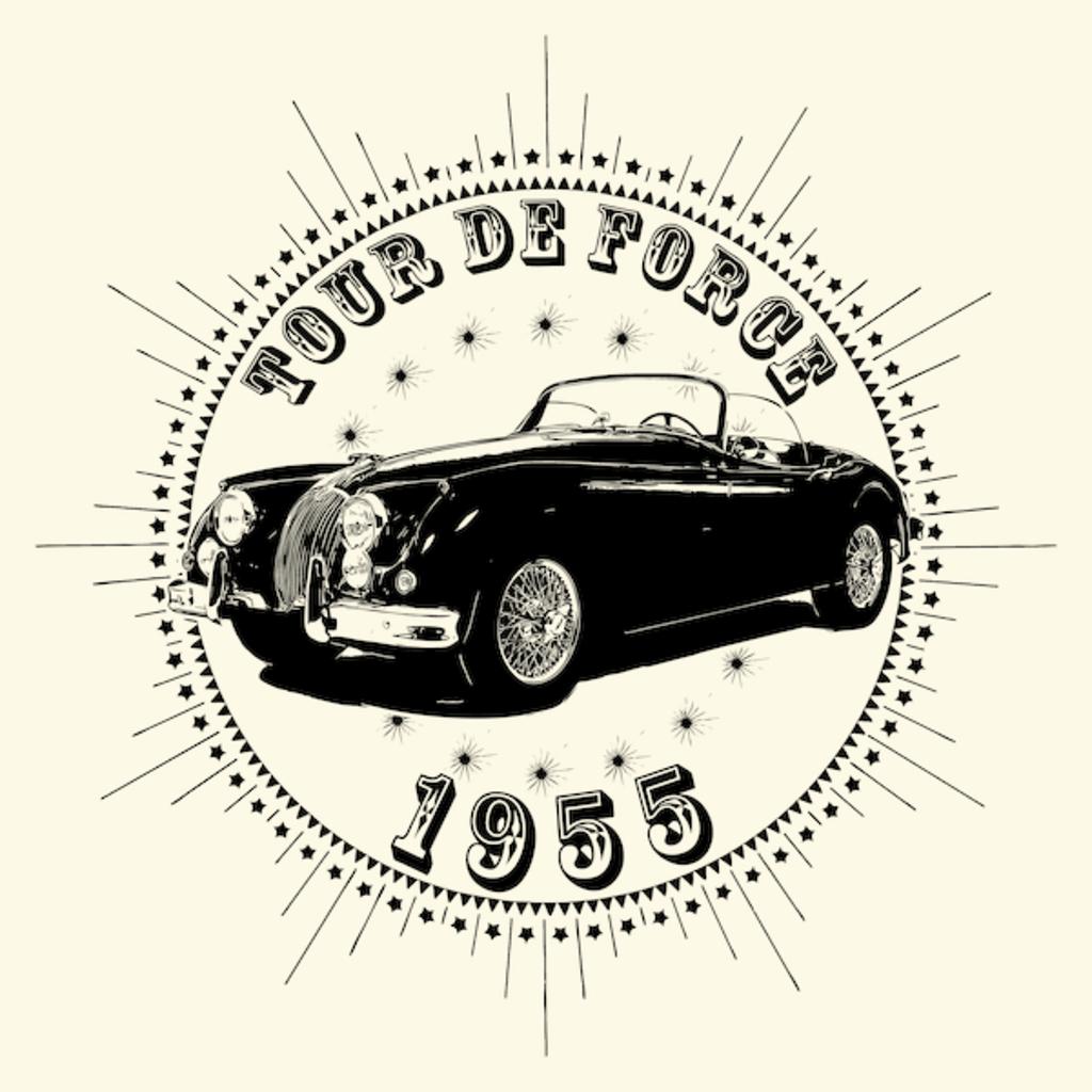 NeatoShop: Vintage Classic Car 1955 Tour De Force Jag