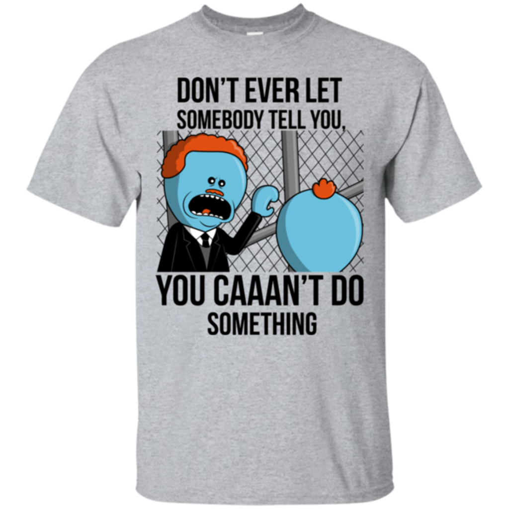 Pop-Up Tee: Don't Ever Let