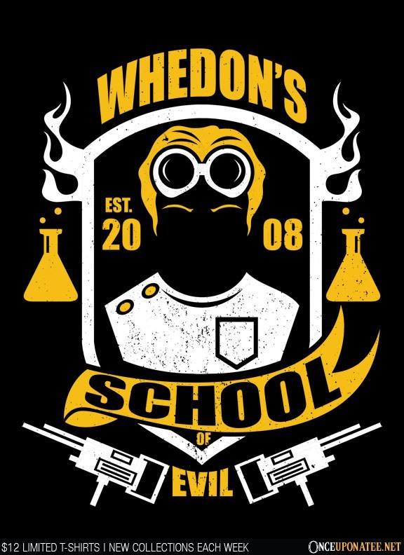 Once Upon a Tee: Whedon School of Evil