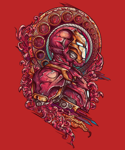 Qwertee: Team Iron