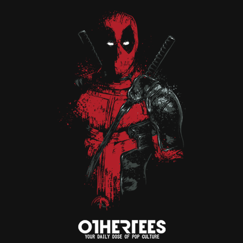 OtherTees: Red Mercenary