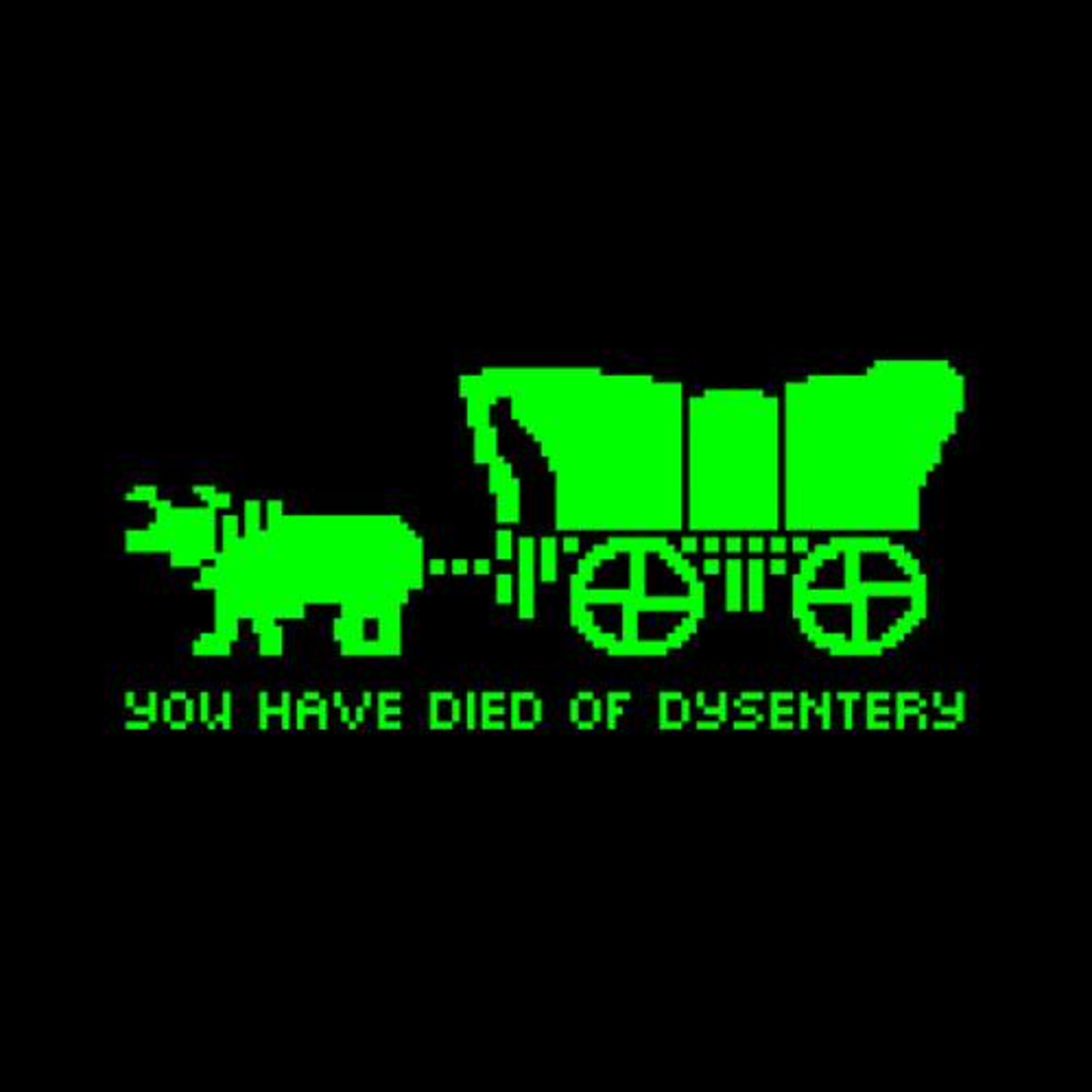Five Finger Tees: You Have Died Of Dysentery T-Shirt