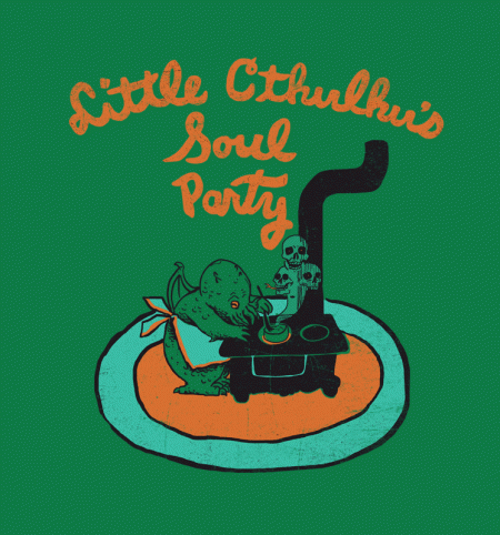 BustedTees: Little Cthulhu
