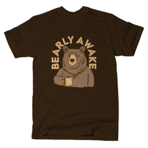 SnorgTees: Bearly Awake