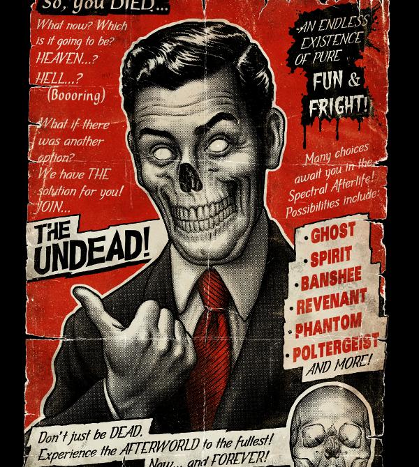 teeVillain: Join The Undead