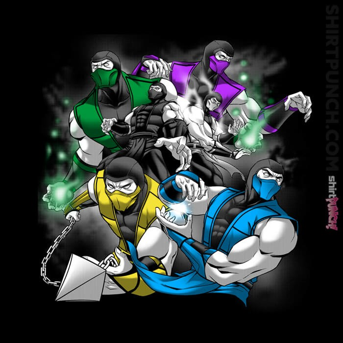 ShirtPunch: Ninja Attack