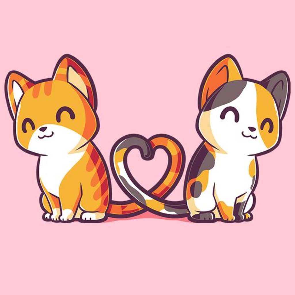 TeeTurtle: Purrfect Together