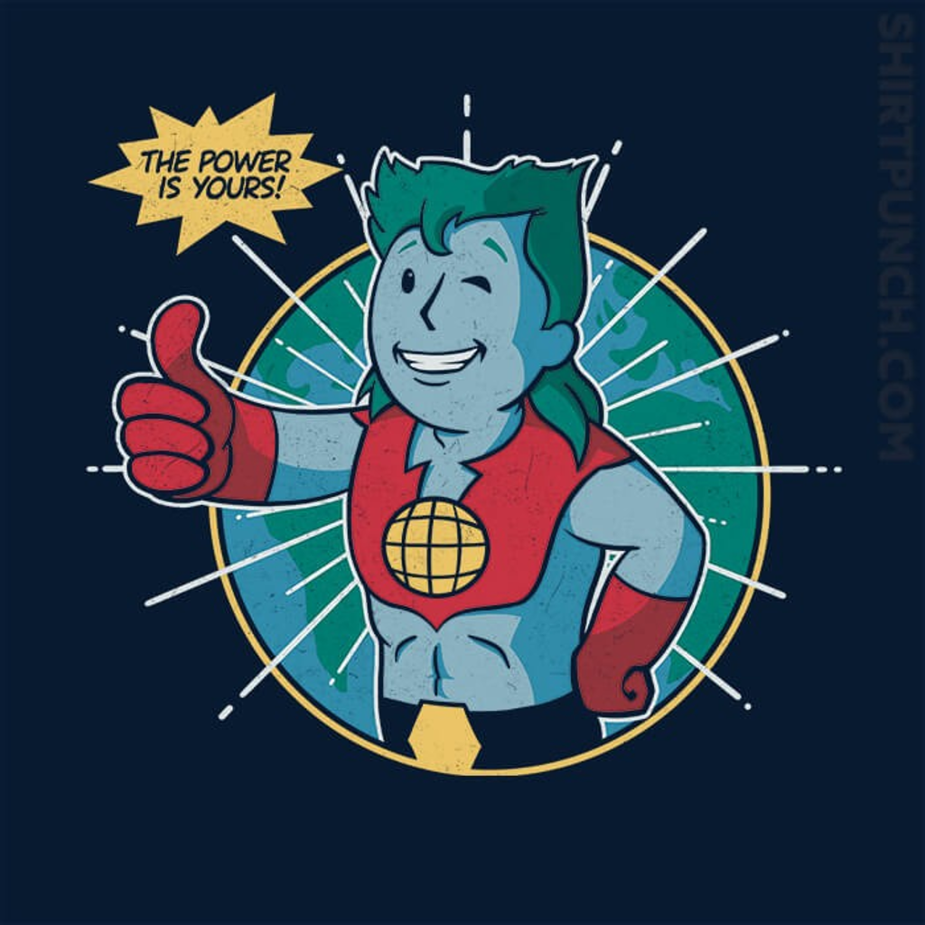 ShirtPunch: Planet Boy