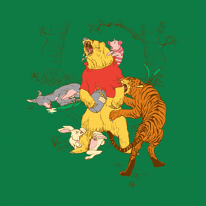 BustedTees: A Very Naughty Bear