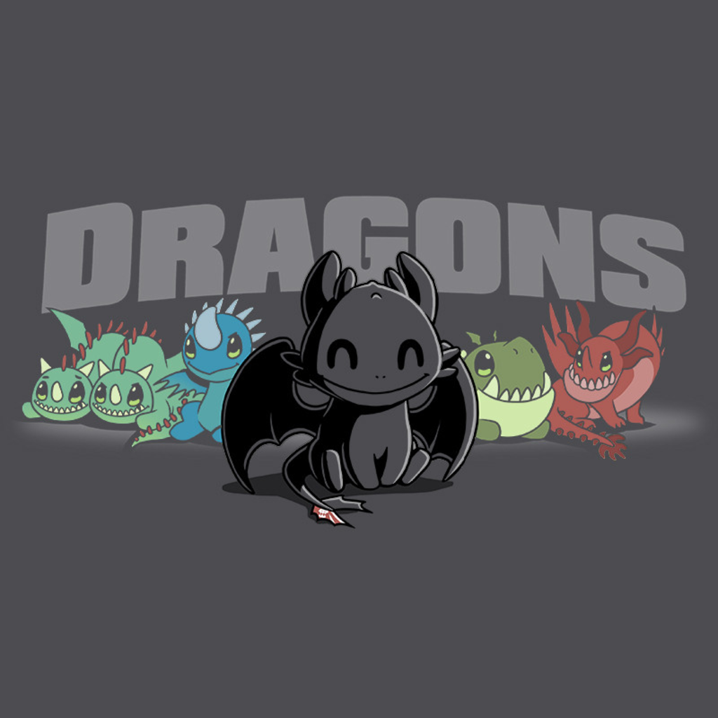 TeeTurtle: Dragons Shirt