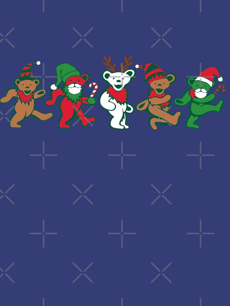 RedBubble: Dancing Bears Christmas. Legends never die.