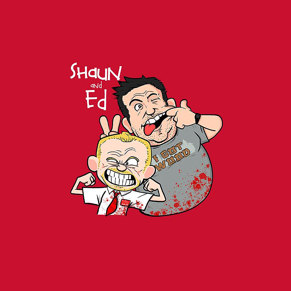 TeeFury: Shaun and Ed
