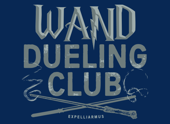 SnorgTees: Wand Dueling Club
