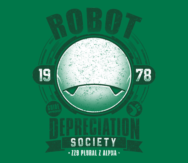 TeeFury: Robot Depreciation Society