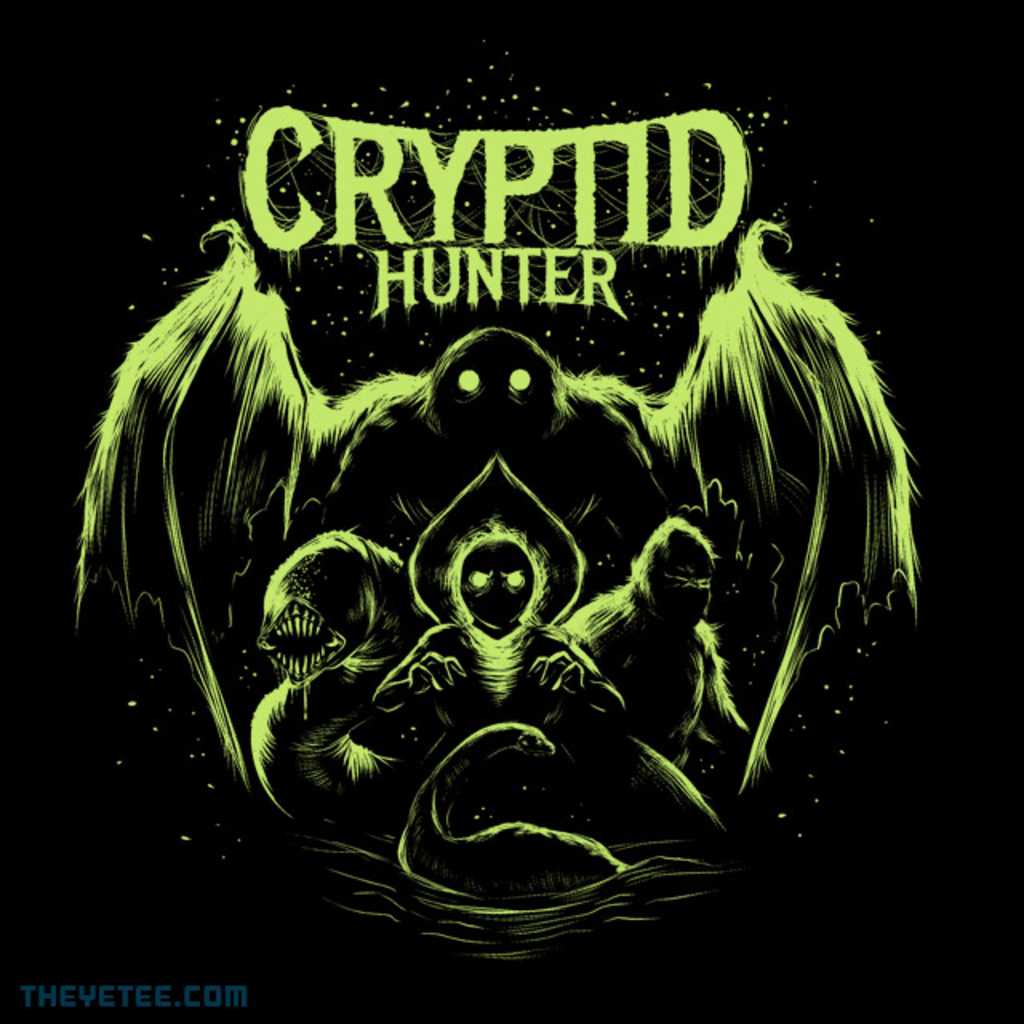 The Yetee: Cryptid Hunter