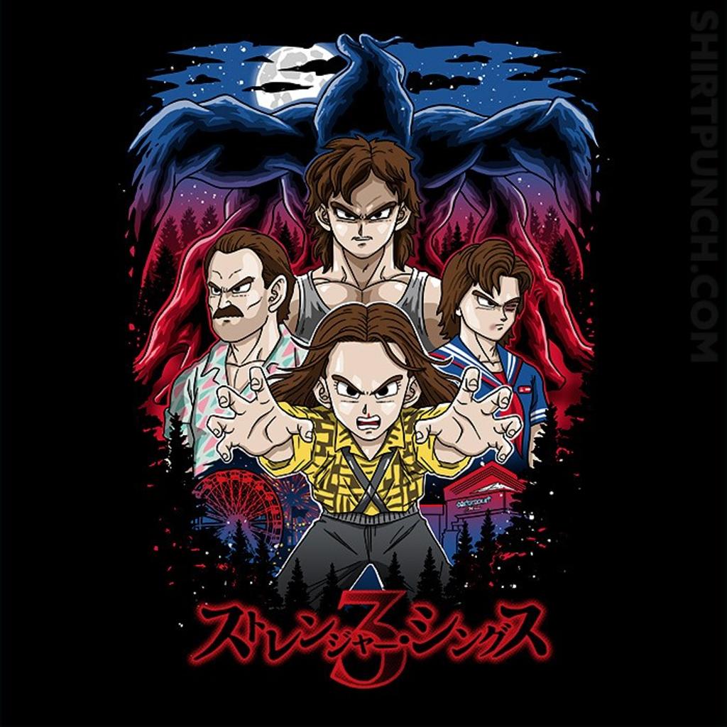 ShirtPunch: Stranger Shonen