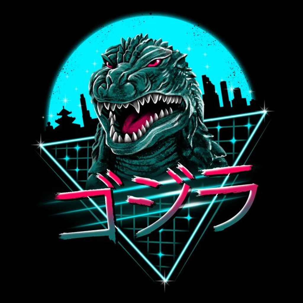 Once Upon a Tee: Rad King of Monsters