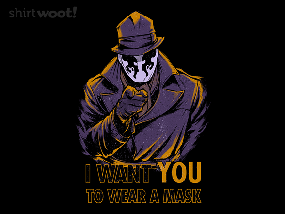 Woot!: I Want YOU To Wear A Mask