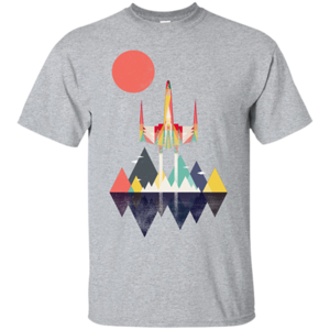 Pop-Up Tee: Sunset Fighter