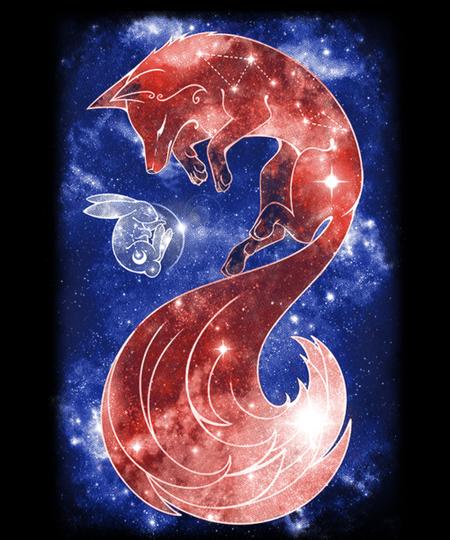 Qwertee: Sleeping Moon