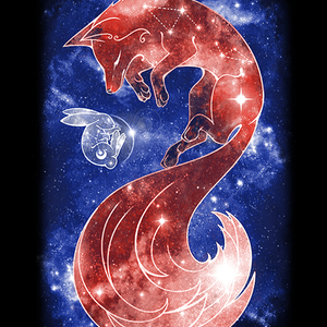 Qwertee: Sleeping Moon