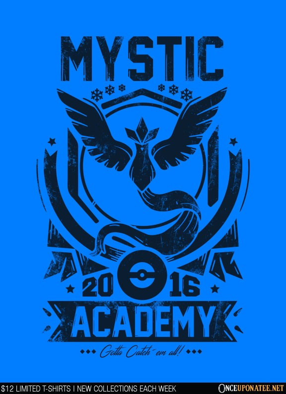 Once Upon a Tee: Mystic Academy (Navy)