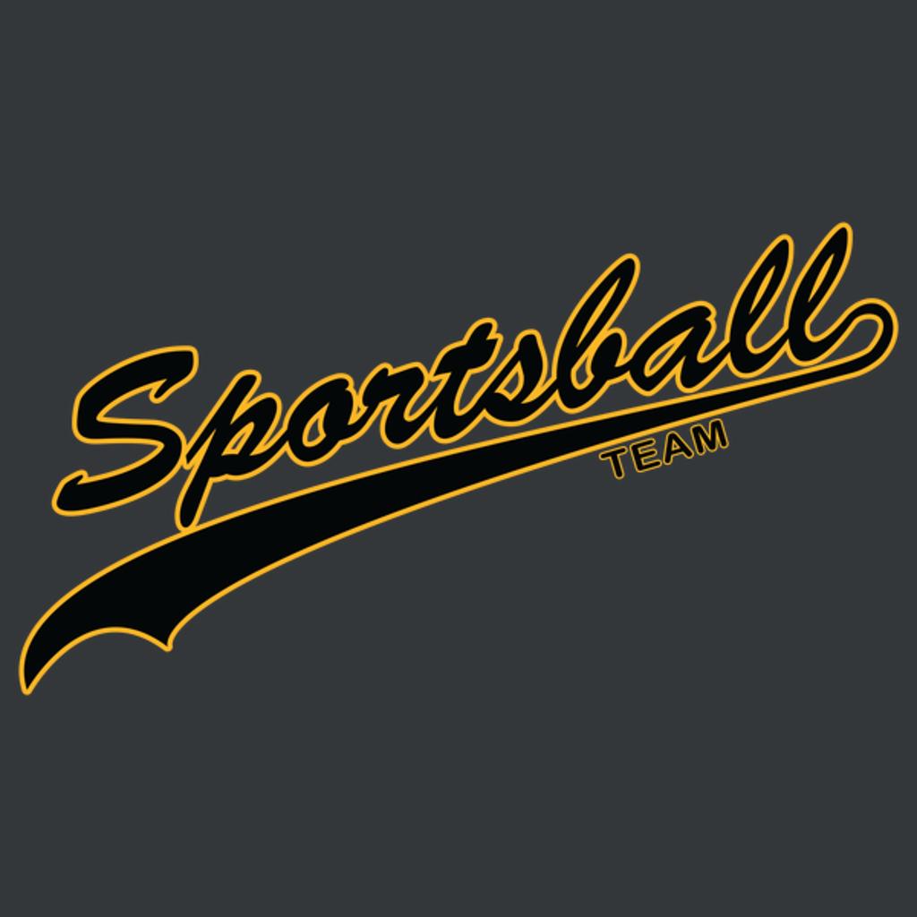 NeatoShop: Sportsball (Black and Yellow)