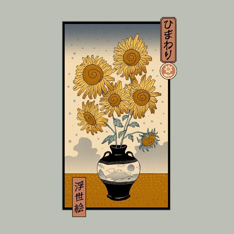 Pampling: Sunflower Ukiyo-e