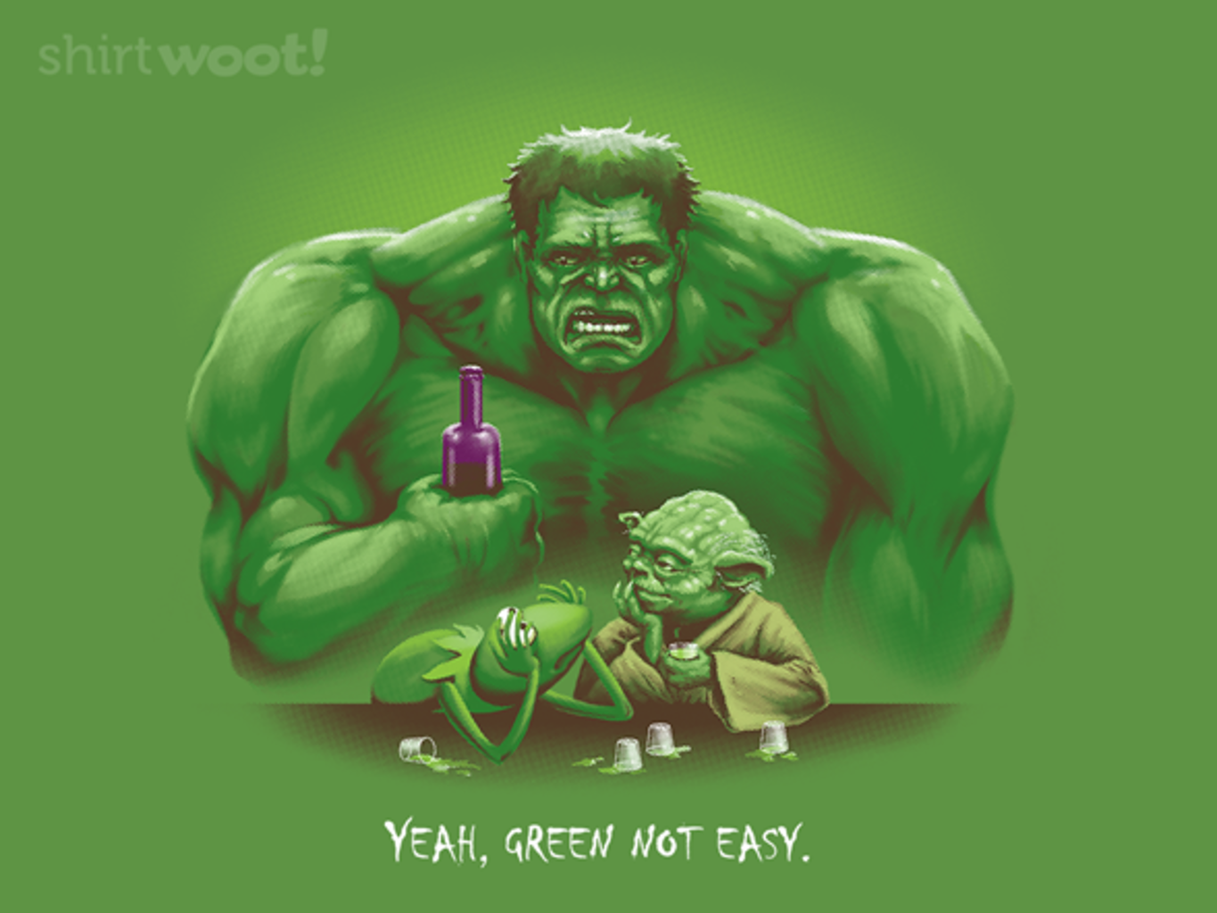 Woot!: Green Not Easy