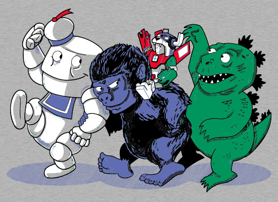 SnorgTees: Where The Monsters Are