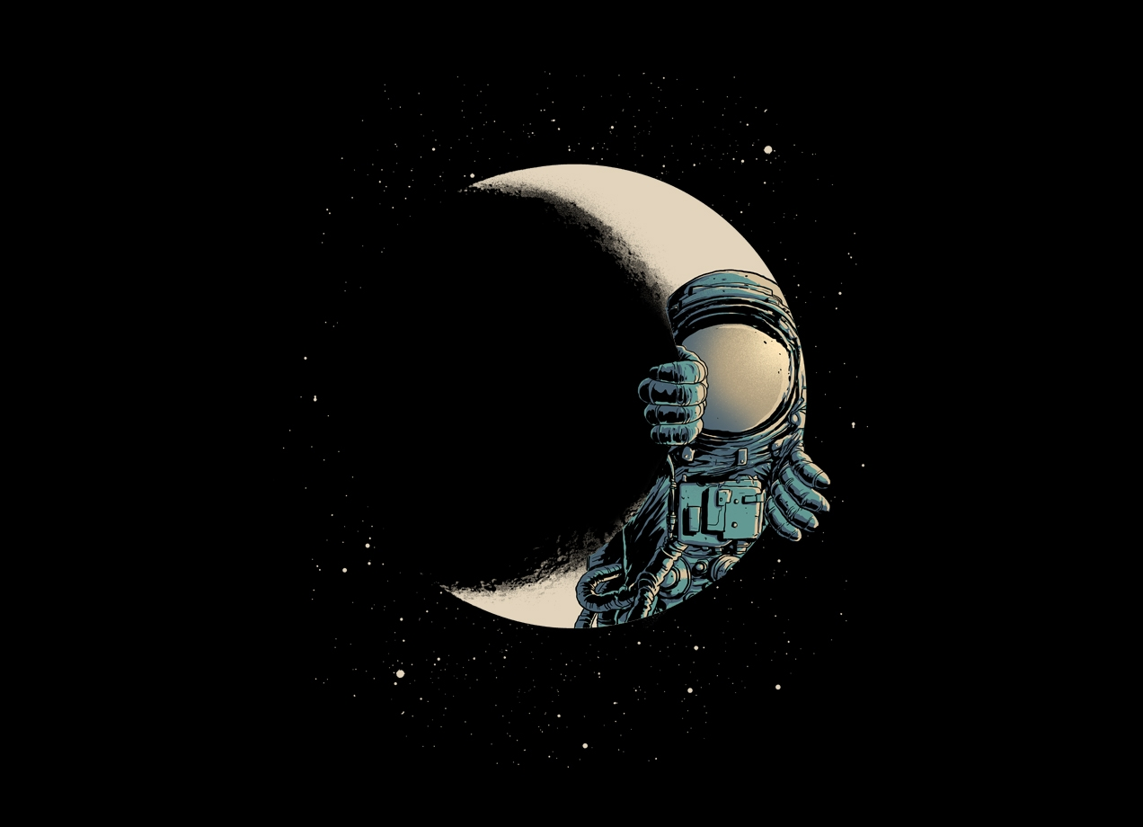 Threadless: Crescent moon