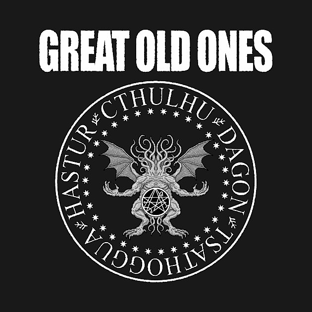 TeePublic: Great Old Ones - Azhmodai 2019