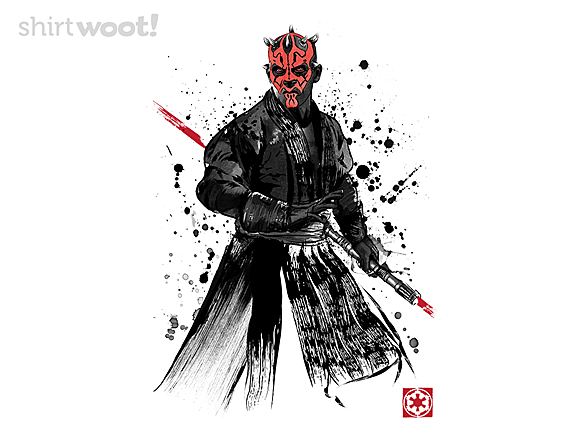 Woot!: Watercolor Sith Lord
